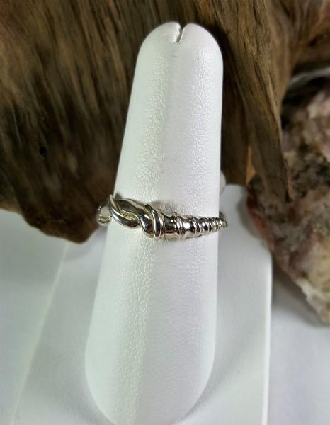 Auger Shell Ring Sterling silver sizes 5-8