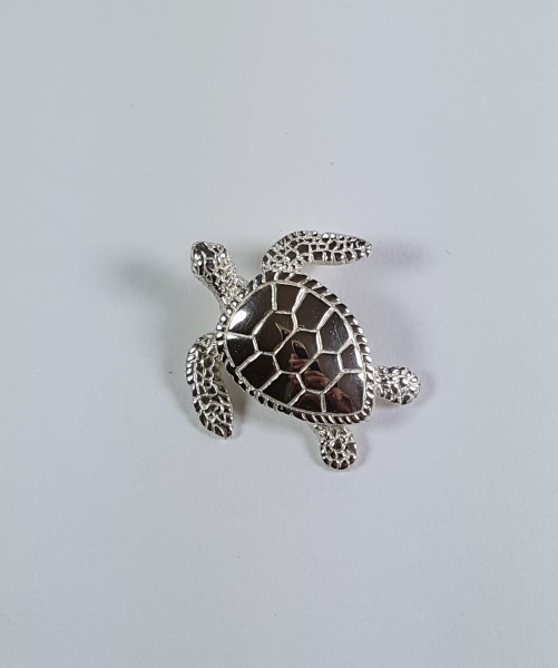 Sea Turtle Slide Sterling Silver 1-3/4 inch