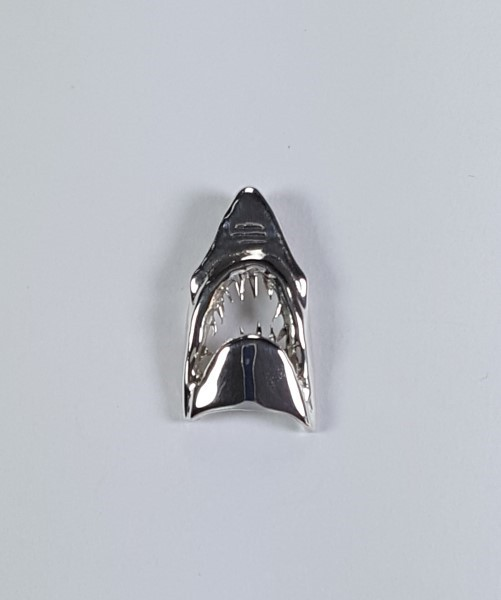 Jaws Pendant Sterling Silver 1 inch