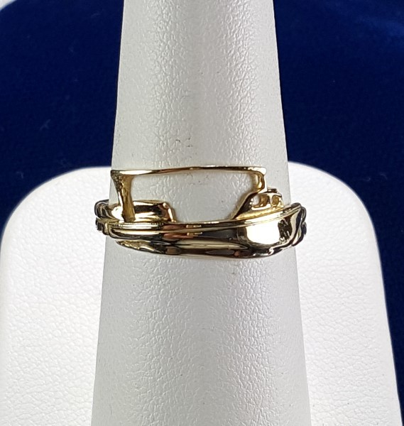 Workboat Ring 14kt Yellow Gold Sizes 6-8