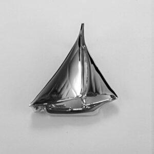 Chesapeake Skipjack Pendant Sterling Silver 1-1/4 inch