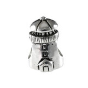 Lighthouse Bead Sterling Silver fits Pandora style bracelet