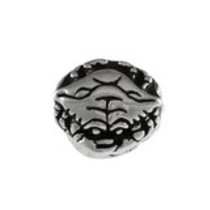 Crab Bead Sterling Silver fits Pandora style bracelet