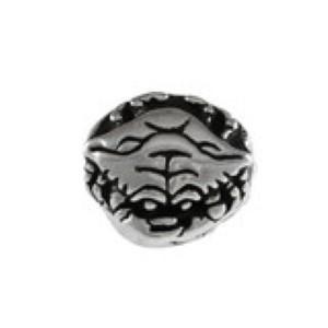 Crab Bead Sterling Silver fits Pandora style bracelet