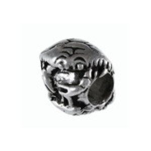 Crabs Swimming Bead Sterling Silver fits Pandora style bracelet