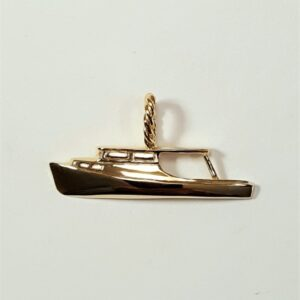 Chesapeake Charter Pendant 14kt Yellow Gold 1-1/4 inch