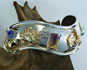 Beach to Bay Cuff Bracelet