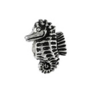 Seahorse Bead Sterling Silver fits Pandora style bracelet