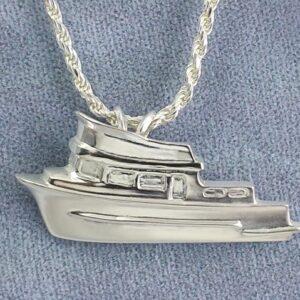 Trunk Trawler Pendant Sterling Silver 1-1/4 inch