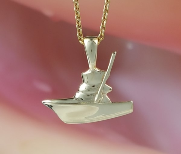 Mini Gold Sport fishing Pendant