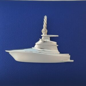 SS Fly Bridge Cruiser Boat Pendant