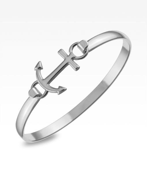 Anchor Swap Top, Sterling silver for swap top bangle