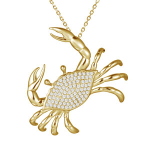 Crab Pendant 14KY