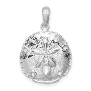 Sand Dollar Sterling Silver